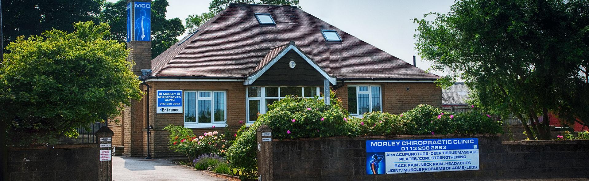 Morley Chiropractor Building Leeds