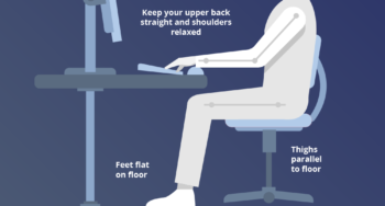 How to Sit at Your Desk